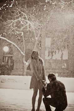 Hire a wedding photographer to sneak around where and when you plan to propose. So when you get down on one knee, you will have photos of the special moment to remember.