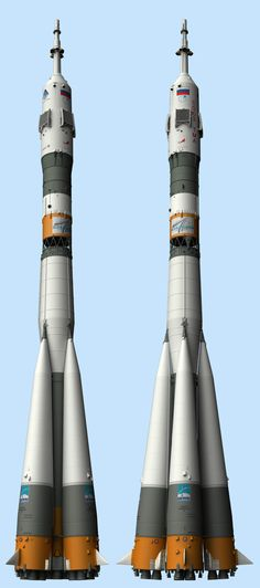 Russian Soyuz Rocket (Nick Stevens) http://spaceart1.ning.com/photo/two-soyuz-views?context=album&albumId=2641110%3AAlbum%3A59569