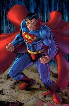Superman Man of Steel Mundo Superman, Superman Man Of Steel, Batman Vs Superman, Superman Stuff, Chibi Superman, Superman Drawing, Superman Family, Dc Heroes, Comic Book Heroes