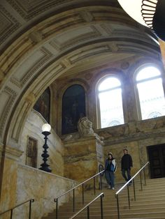 The Boston Public Library -- a must-do when you travel to Boston!