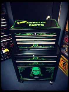 Monster parts toolbox by spitfire interiors