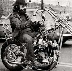 1970s Harley Davidson chopper