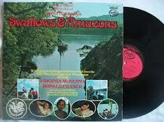 LP of Swallows and Amason with vinyl record Arthur Ransome, Swallows And Amazons, I Hope You, Vinyl Records, Lp, Thinking Of You, Reading, Thinking About You, Reading Books