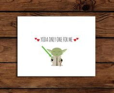 Etsy Yoda card