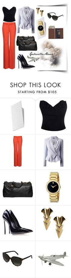 """""""Business Meeting in Milan"""" by gabriellaaudiamarie ❤ liked on Polyvore featuring Sonneman, Simone Rocha, STELLA McCARTNEY, Alexander McQueen, Chanel, Movado, Casadei, First People First, Fendi and Conran"""