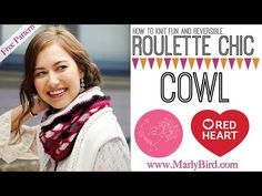 Knitting Patterns Cowl How to Knit Roulette Chic Cowl Pucker Stitch