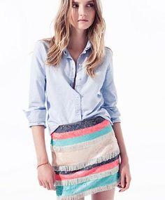 La nueva colección de Zara TRF tiene las tendencias de moda verano 2012