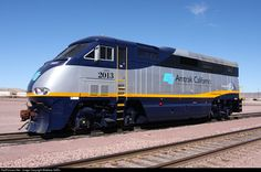 Amtrak California CDTX 2013 @ Barstow yard. Photo taken with permission and full PPE.
