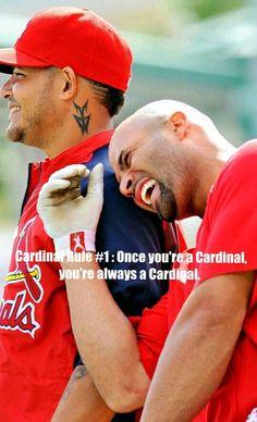Cardinal Rule #1 : Once you're a Cardinal, you're always a Cardinal.