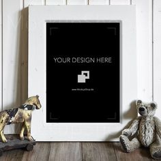 Have a Wonderful day with this sweet Photo Frame Mockup ...