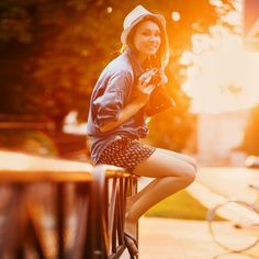 Smile at sunset. John Frieda®