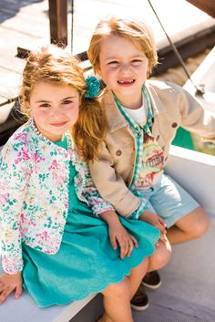 Moda Infantil. Familia Travel Diary