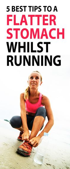 These simple flat belly tips have been designed to be carry out whilst you are running - integrate them into your run where possible and you will get a noticeably flatter stomach & stronger core in no time! #muffintop