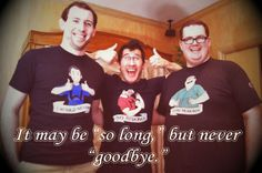 Mark - Markiplier Bob  Wade - LordMinion777