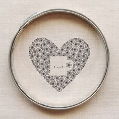 For the Love of Coffee free embroidery pattern // wild olive