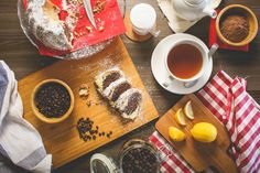 Morning Breakfast marble cake sweet Food coffee - Drink tea - hot drink high angle view food and drink no people Rocky Road Eis, Rocky Road Ice Cream, Morning Breakfast, Best Breakfast, Triple Chocolate Muffins, Fish Patties, Sweet & Easy, Caramel, Homemade Muffins
