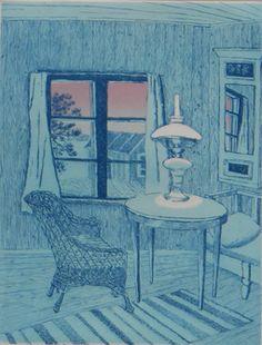 Inari Krohn Finland, Interior, Painting, Art, Art Background, Indoor, Painting Art, Kunst, Paintings