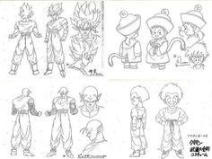 Dragon Ball - Model Sheet 009 | Dragon Ball Art Concepts Mod… | Flickr