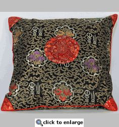Asian styled pillow