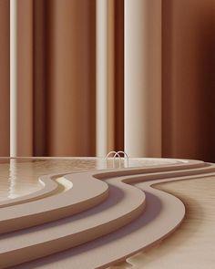 INTERIOR COLOR TRENDS 2020 : Brown caramel interiors and design - Discover more design inspiration on www. Color Inspiration, Interior Inspiration, Deco Cafe, Architecture Design, Minimal Architecture, Interior Minimalista, Web Design, House Design, Design Color