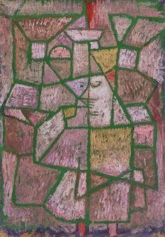 'Herr der Stadt' (1937) by Paul Klee
