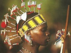 Africa | Bassari woman.  Senegal | ©unknown