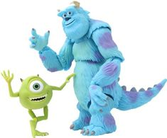 Monsters Inc Mike  SallyRevoltech 028 Super Poseable Action Figure >>> Click image for more details.