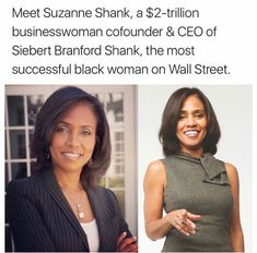 Woww...  and she's from Georgia.  Pretty cool.  She runs two trillion dollar companies but her net worth is estimated in the billions although she hasn't released details.