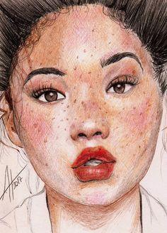 La chica por Anabelartworks - Retratos | Dibujando.net