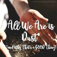 All We Are is Dust*