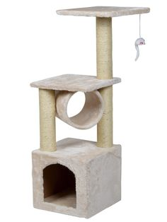 2017 New High Quality Pet Cat Climbing Frame Tree Condo Furniture Scratching Post Kitten Pet Play Toy House Multi-layer Cat Tree