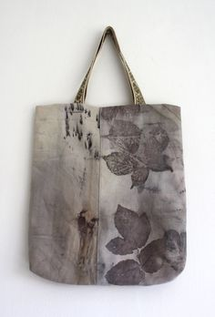 hand dyed bag by Monika @ Red2White
