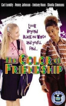 The Color of Friendship movie dvd.