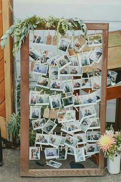 Idées de collage de photo et de dispositions pour la décoration murale Budget Diy Wedding, Wedding Signs, Wedding Photos, Dream Wedding, Wedding Day, Trendy Wedding, Party Photos, Wedding Unique, Wedding At Home