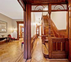 Brooklyn Garfield Place brownstone interior