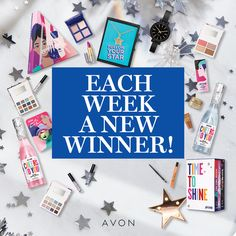 Enter for a chance to win this holiday gift set in the 8 weeks of giving. A new winner and new Representative winner every week. Only one entry need for all 8 weeks. Brochure Online, Avon Brochure, Avon Sales, Manicure At Home, Avon Representative, Latest Books, Simple Colors, Craft Patterns, Tis The Season
