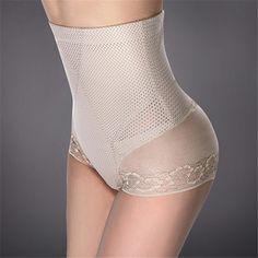 a1dea442b Plus Size Women Panties Body Shaper Beauty High Waist Girdle Pants  Breathable Sexy Underwear Women Butt