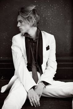 Jamie Campbell Bower from issue 6 of Un-Titled Project magazine Jamie Campbell Bower, Sweeney Todd, Jace Wayland, City Of Bones, Shadow Hunters, Cassandra Clare, The Mortal Instruments, Celebrity Crush, Gorgeous Men