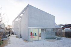 Kukje Gallery, SO-IL (Florian Idenburg, Jing Liu), Seúl, Corea del Sur, 2012. Fotografía: Iwan Baan.