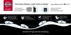 New Nissan LEAF e-Pedal Premieres September 6 — Simple Things Can Be Amazing