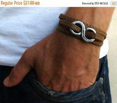 EN vente 20 % de réduction Bracelet pour hommes - hommes infini Bracelet - Bracelet d                                                                                                                                                                                 Plus
