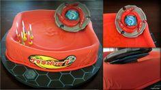 Big+Beyblade+Cake!