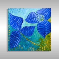 Abstract Art for Sale | FL Modern Art Laelanie Larach | Laelanie Art Gallery Best Abstract Paintings, Trippy Painting, Abstract Art For Sale, Cool Paintings, Dandelion Painting, Flower Painting Canvas, Butterfly Painting, Flower Paintings, Modern Art For Sale