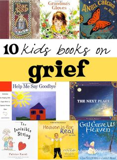 10 kids books on grief - The best picture books for children on death, dying, and grief and loss. Show healthy feelings - not all sad, many portray messages of hope and peace. These thoughts and truths will help teens and adults too as the messages are un Best Children Books, Childrens Books, Kid Books, Helping Children, Story Books, Baby Books, Help Kids, Grief Counseling, Child Life Specialist