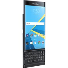 Brand New BlackBerry Priv Factory Unlocked Smartphone Blackberry 10, Blackberry Passport, Blackberry Smartphone, New Electronic Gadgets, Cell Phone Plans, Boost Mobile, Make Up Your Mind, New Phones, Mobile Phones