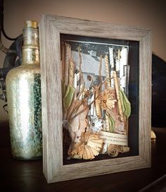 Homegrown Shadowboxes: Tender Thoughts and Sweet Recollections, $70