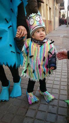 Costume Halloween, Halloween Make, Halloween Projects, Monster Costumes, Girl Costumes, Monster Party, Baby Presents, Les Sentiments, Toddler Activities