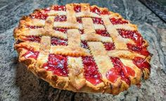 Sour Cherries from Michigan are a revelation, to those who've never tasted them before. In this post, I teach you how to make The Best Homemade Cherry pie, and my recipe uses frozen sour cherries from Michigan. #cherries #cherrypie #recipe #sourcherries #frozensourcherries Yummy Treats, Delicious Desserts, Sour Cherry Pie, Homemade Cherry Pies, Pastry Shells, Frozen Cherries, Fruit Pie, Pie Crust Recipes, Recipe Using