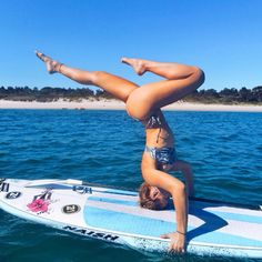 When you already have both SUP and yoga skills this is not as hard as it looks.