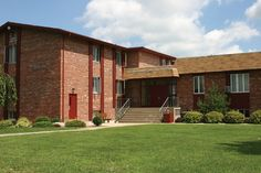 One of our dorm buildings, Conrad Hall